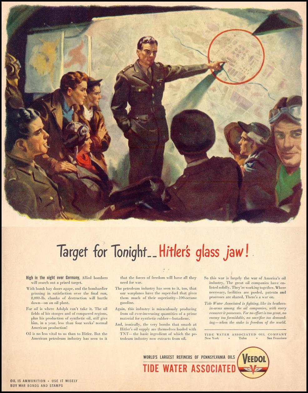 VEEDOL MOTOR OIL LIFE 05/24/1943
