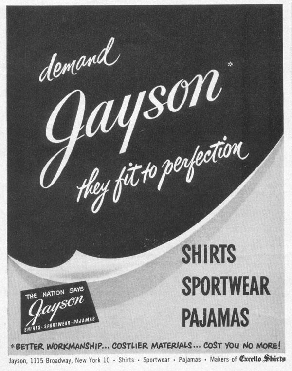 SHIRTS, SPORTSWEAR, PAJAMAS LIFE 06/05/1950 p. 100
