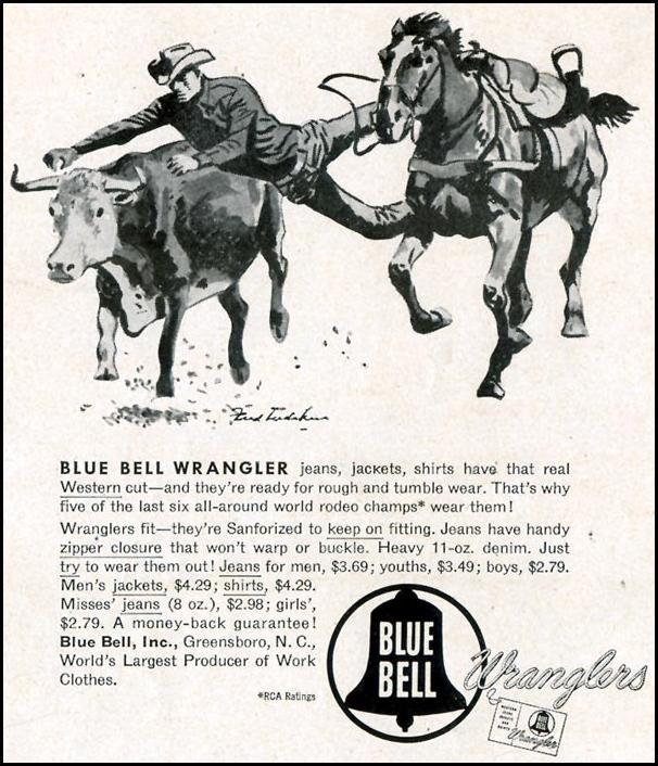WRANGLERS JEANS LIFE 10/19/1953 p. 170
