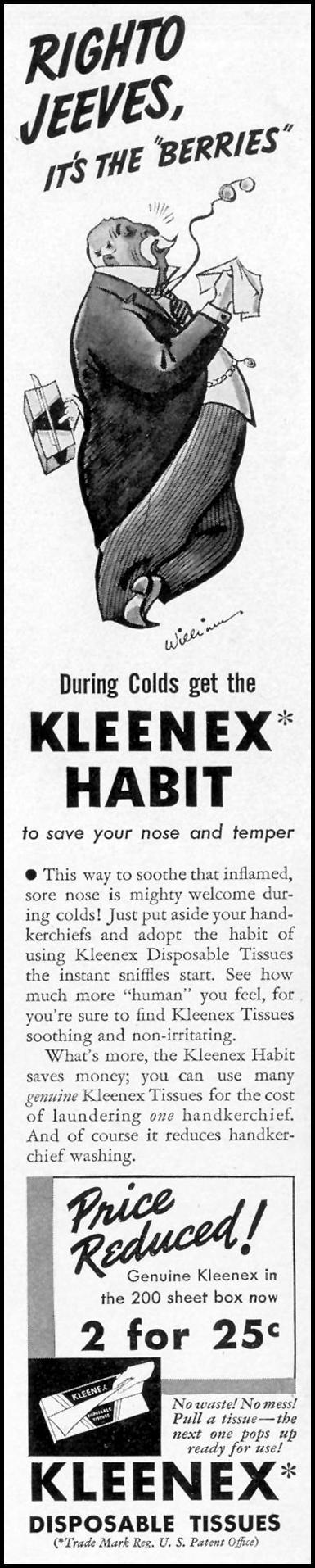 KLEENEX TISSUES LIFE 09/20/1937 p. 10