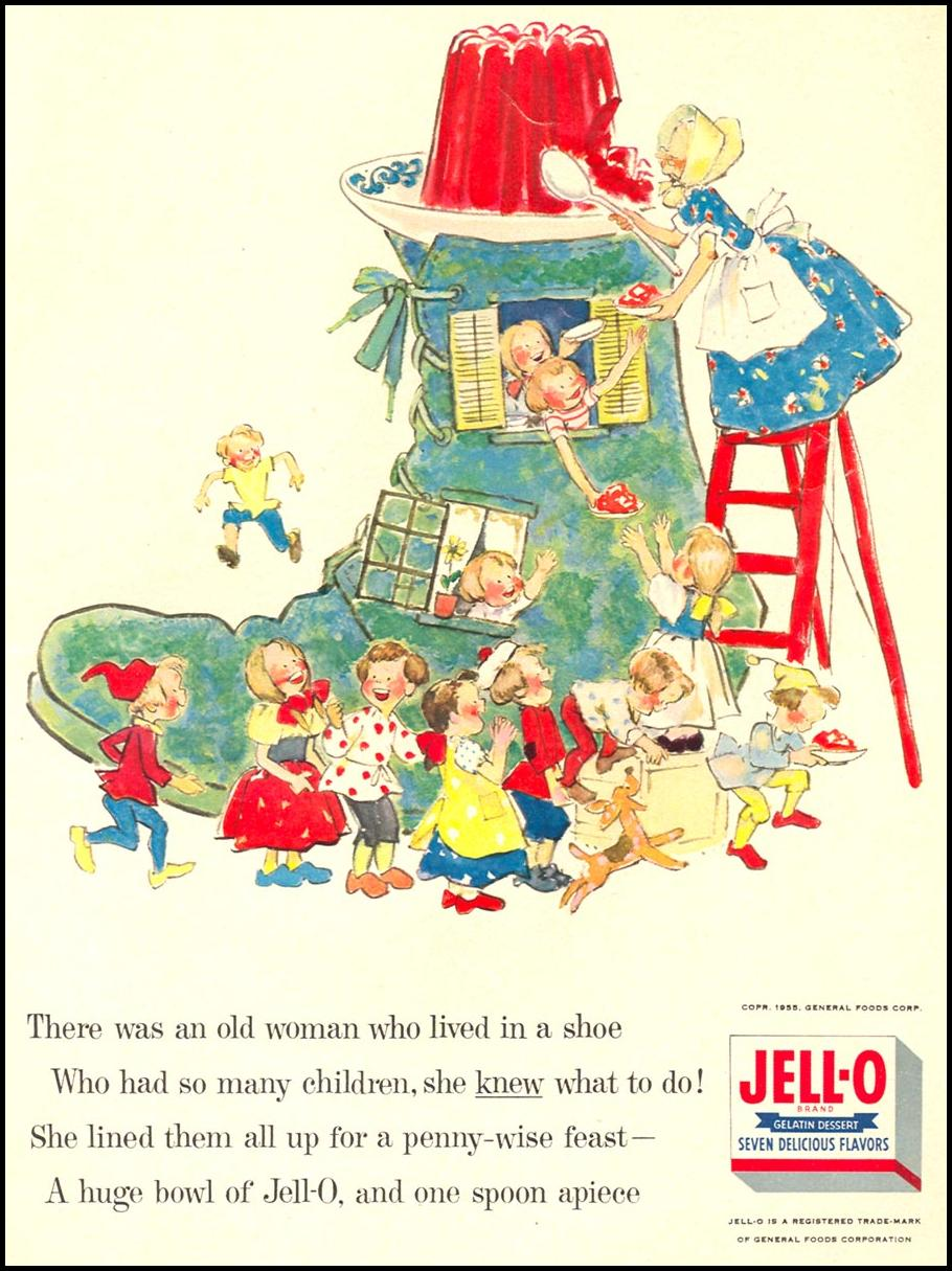 JELL-O WOMAN'S DAY 09/01/1955 p. 19
