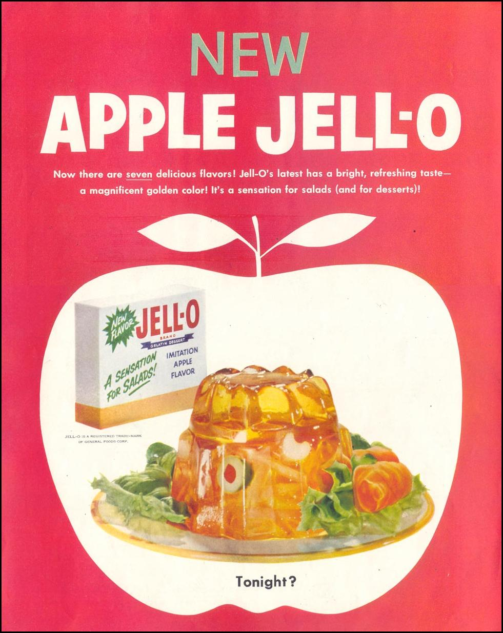 JELL-O SATURDAY EVENING POST 03/26/1955 p. 50