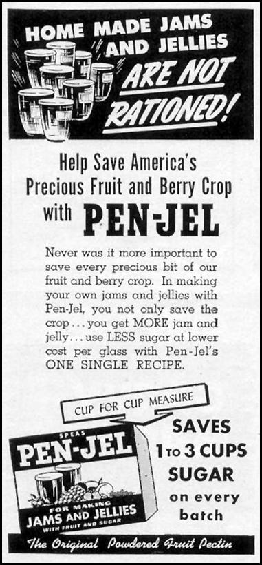 PEN-JEL FRUIT PECTIN WOMAN'S DAY 06/01/1943 p. 68