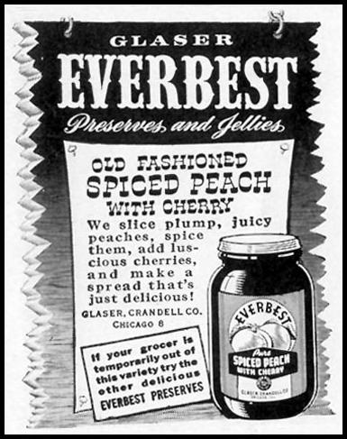 EVERBEST PRESERVES AND JELLIES LIFE 02/21/1944 p. 127