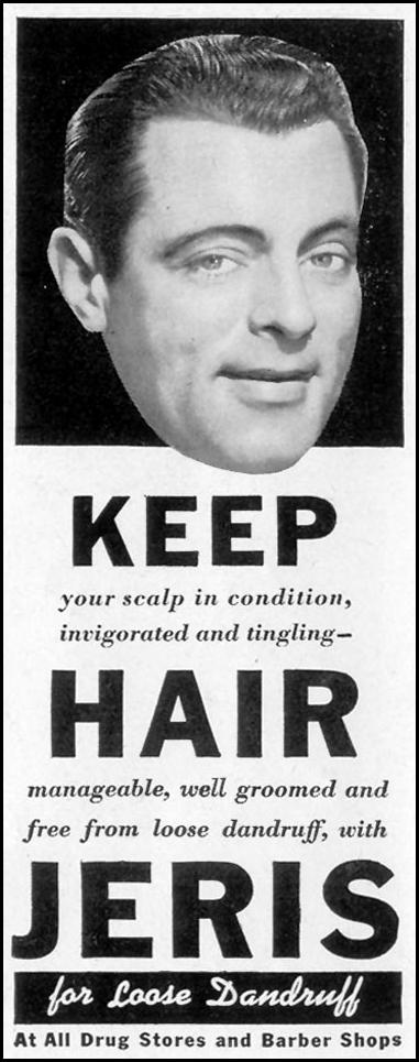 JERIS HAIR TONIC LIFE 11/08/1943 p. 84