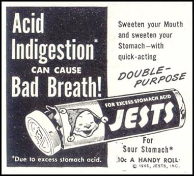 JESTS ANTACID SATURDAY EVENING POST 05/19/1945 p. 86