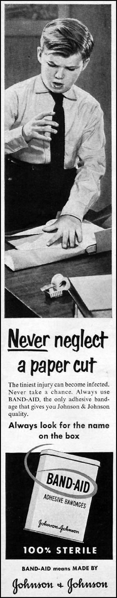 BAND-AID ADHESIVE BANDAGES LIFE 10/01/1951 p. 108