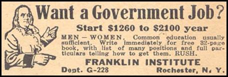 GOVERNMENT JOBS LIBERTY 02/15/1936 p. 35