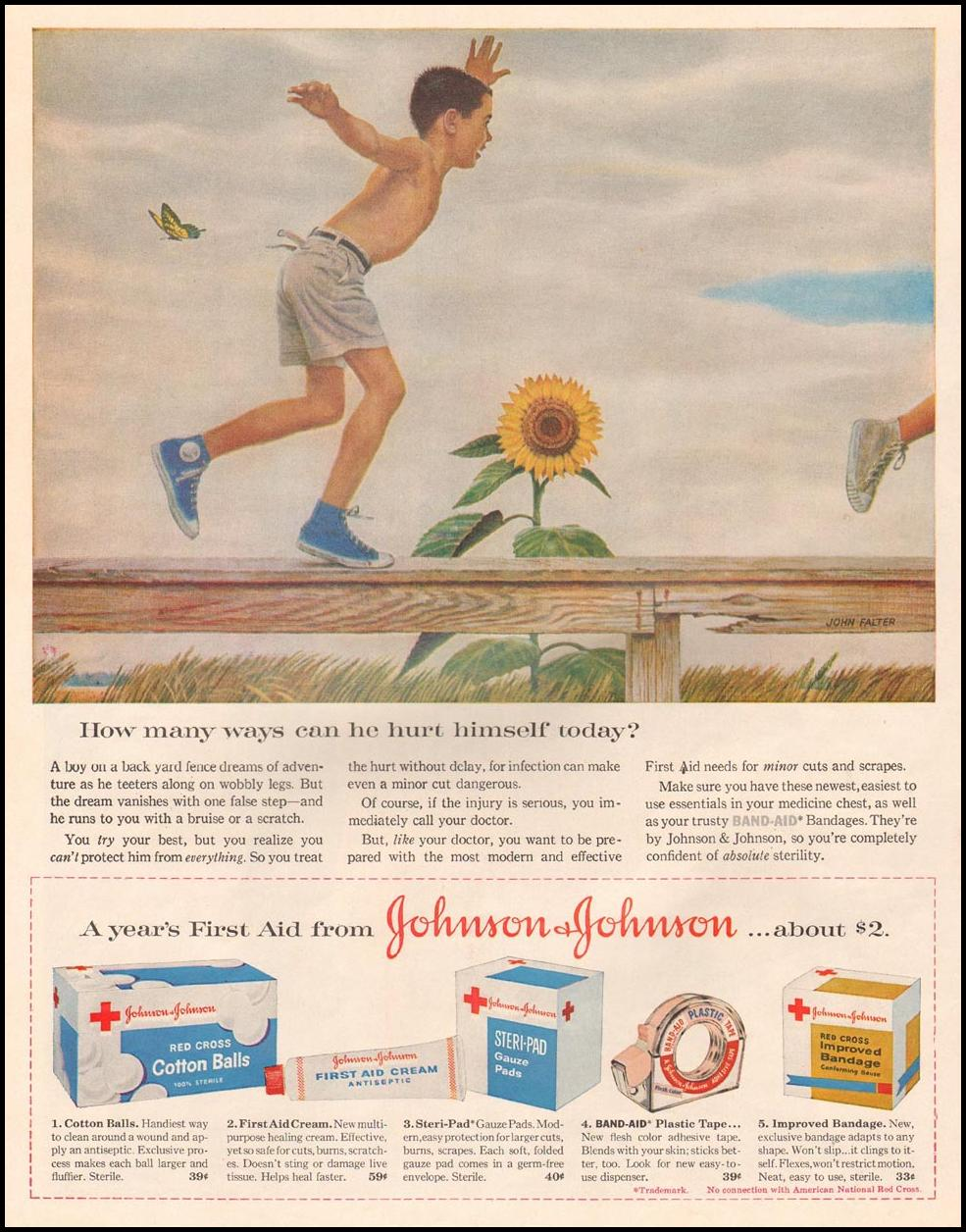 JOHNSON & JOHNSON FIRST AID PRODUCTS LIFE 08/10/1959