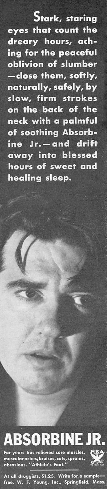 ABSORBINE JR. GOOD HOUSEKEEPING 12/01/1933 p. 126