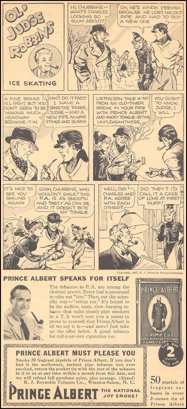 PRINCE ALBERT PIPE TOBACCO LIBERTY 11/28/1936 p. 31