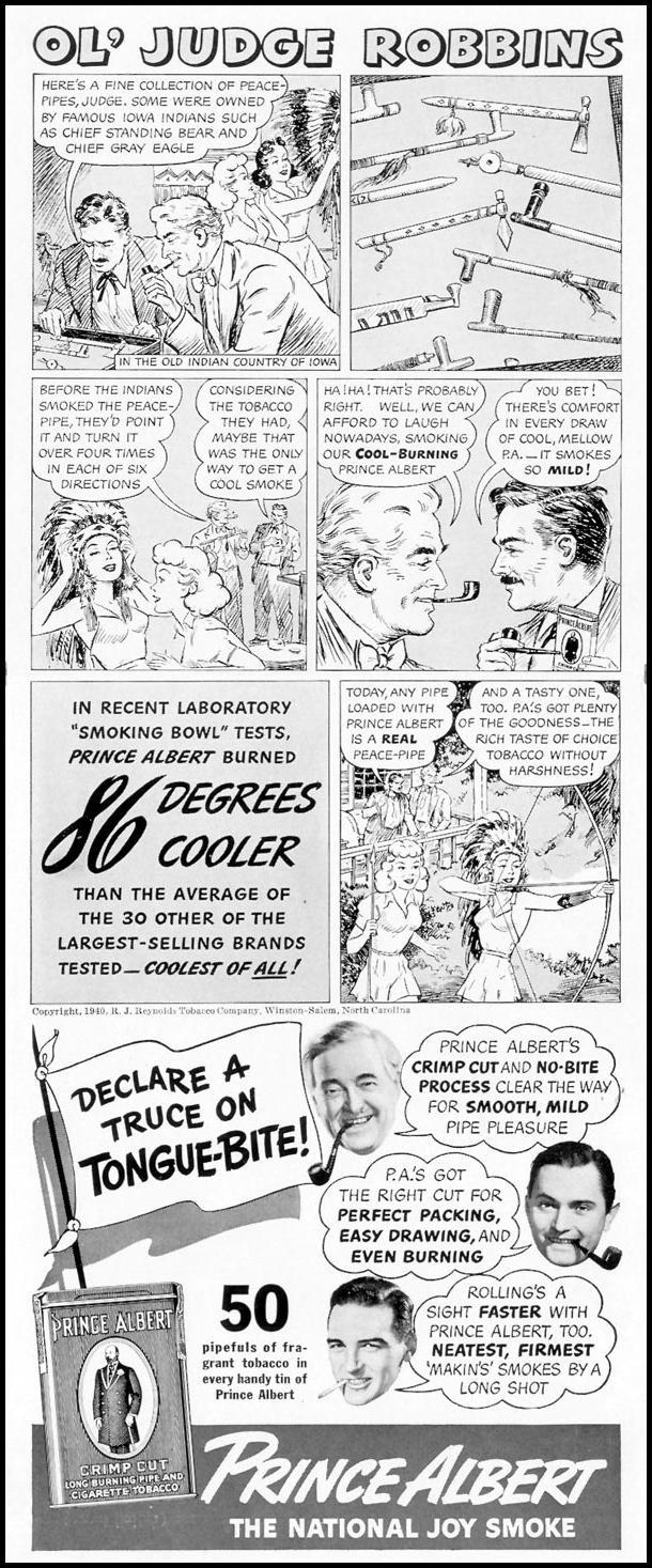 PRINCE ALBERT PIPE TOBACCO LIFE 09/16/1940 p. 78