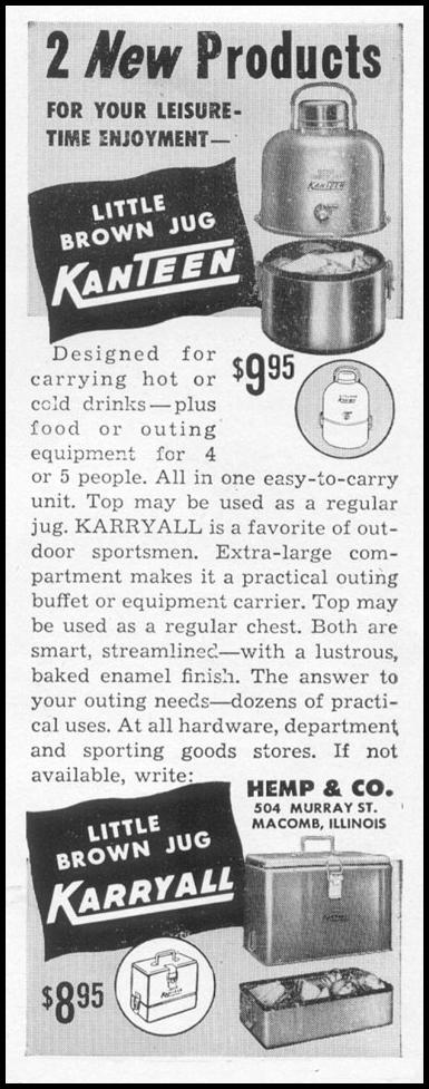 LITTLE BROWN JUG KANTEEN & KARRYALL LIFE 06/05/1950 p. 48