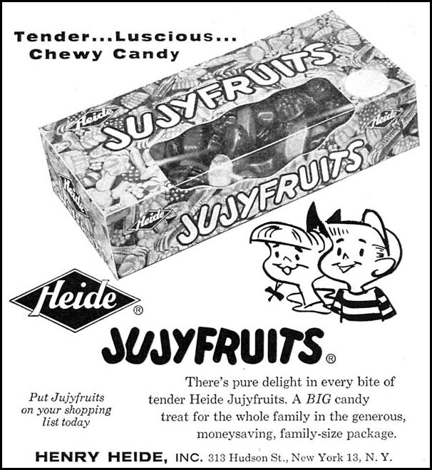 JUJYFRUITS CANDY WOMAN'S DAY 06/01/1958 p. 97