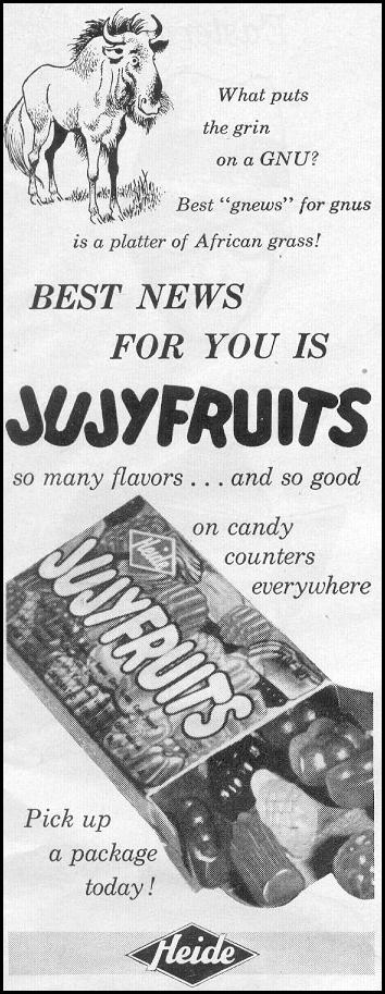 JUJYFRUITS CANDY LOOK 09/16/1958 p. 7