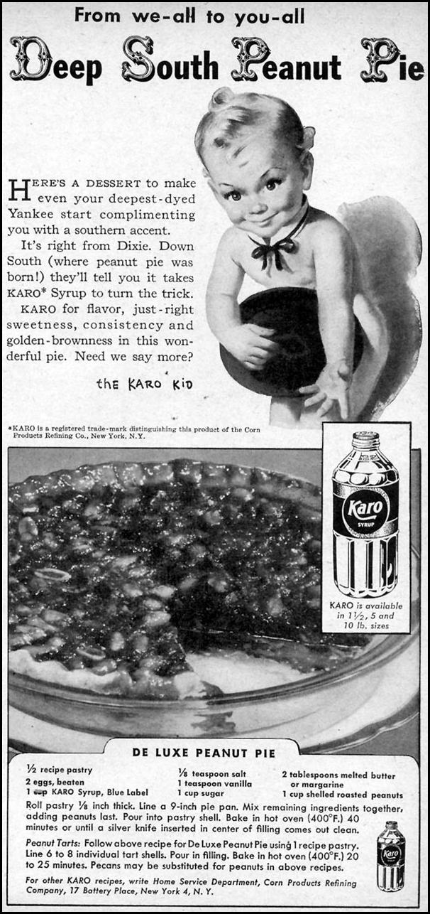 KARO SYRUP WOMAN'S DAY 03/01/1948 p. 119