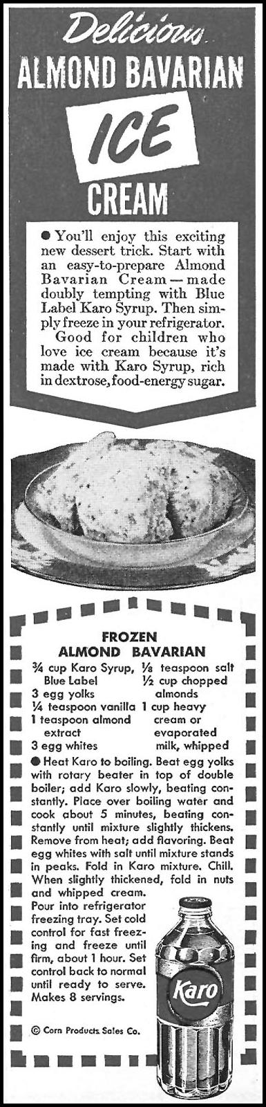 KARO SYRUP WOMAN'S DAY 04/01/1946 p. 81