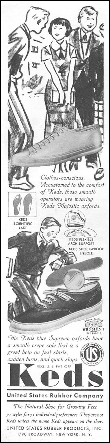 KEDS CHILDREN'S SHOES GOOD HOUSEKEEPING 04/01/1936 p. 132