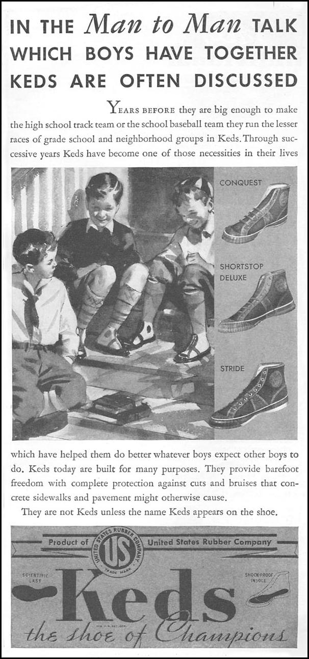 KEDS SHOES GOOD HOUSEKEEPING 06/01/1935 p. 183