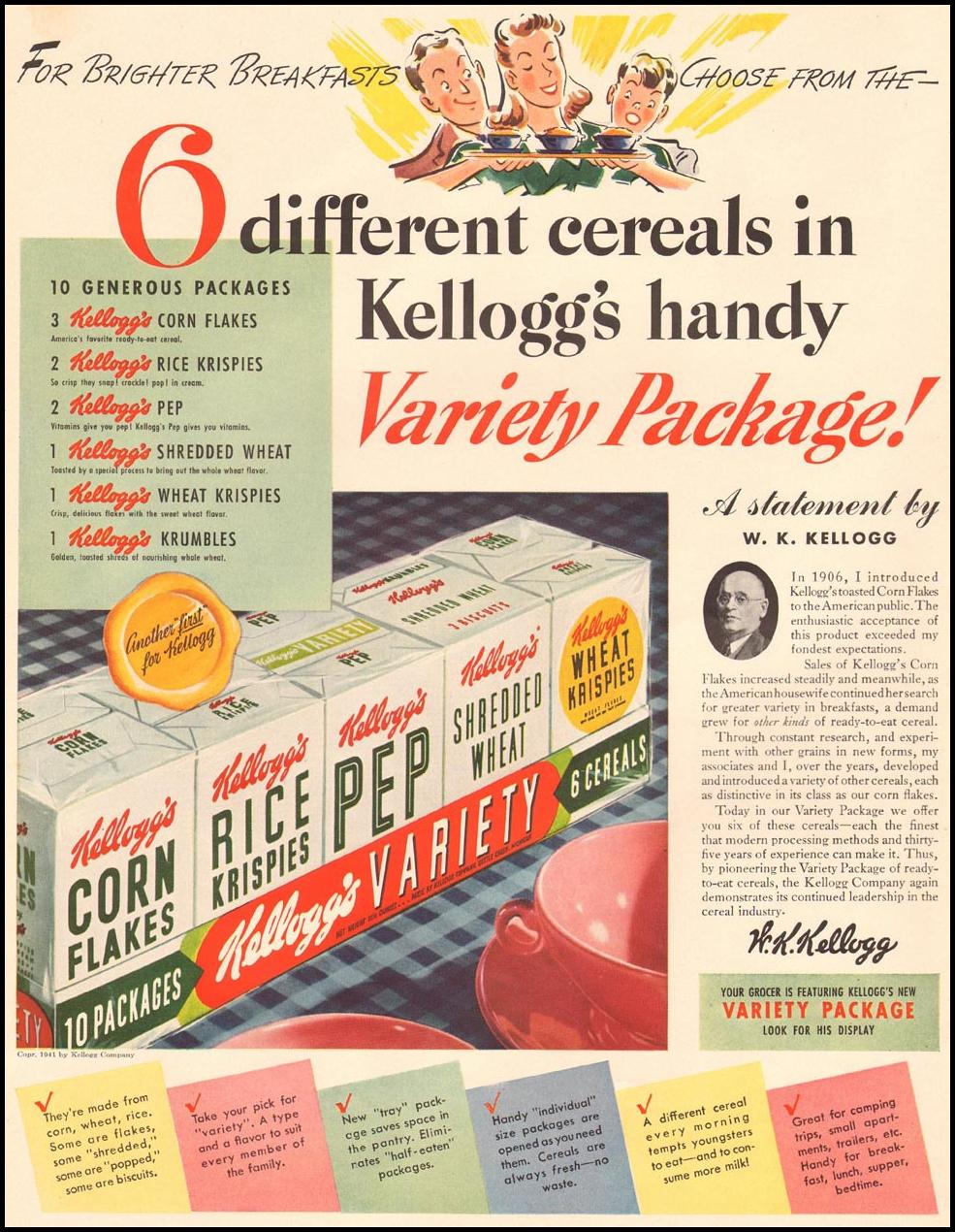 KELLOGG'S CEREAL LIFE 08/04/1941 p. 64