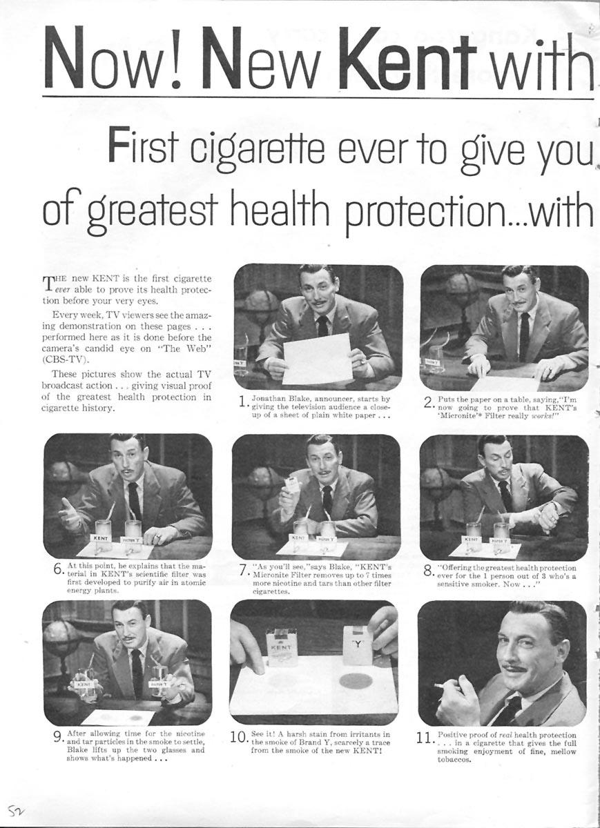 KENT CIGARETTES TIME 06/08/1953 p. 52