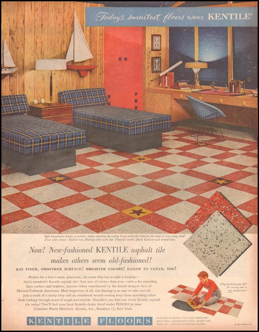 KENTILE ASPHALT TILE LOOK 10/29/1957 p. 70