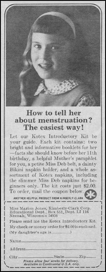 KOTEX LIFE 11/01/1966 p. 93