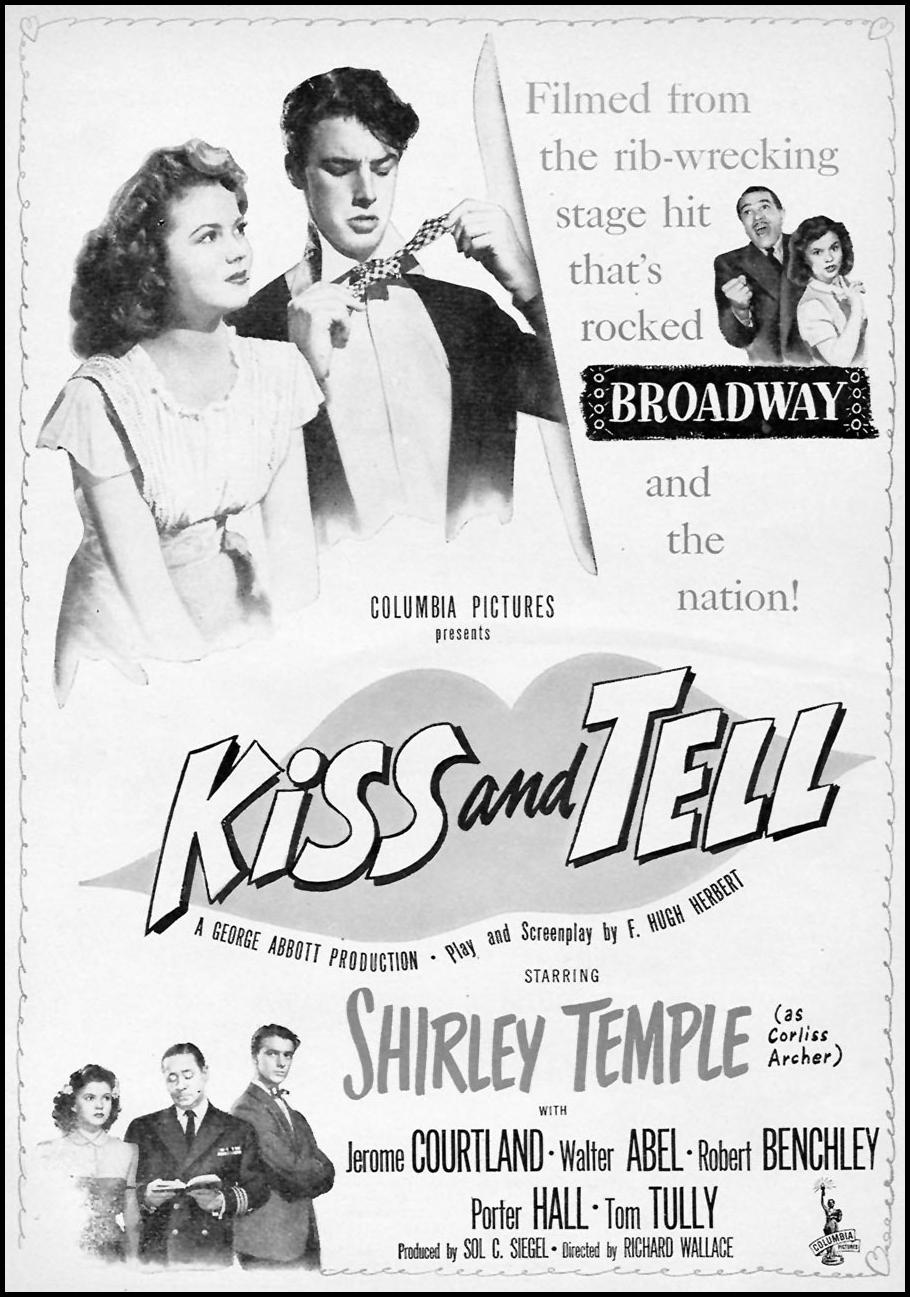 KISS AND TELL WOMAN'S DAY 07/01/1945 p. 3