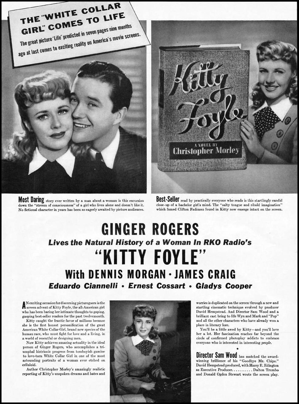 KITTY FOYLE LIFE 12/16/1940 p. 73