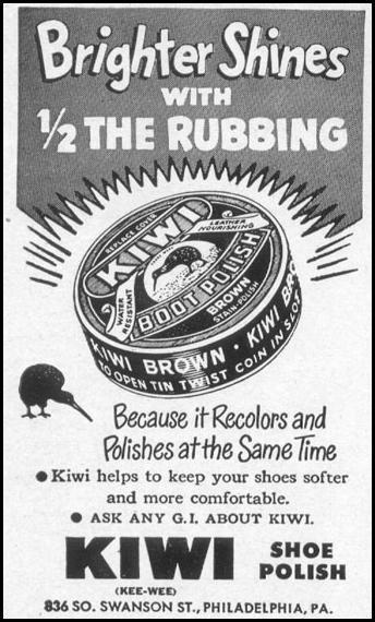 KIWI BOOT POLISH LIFE 04/17/1950 p. 154
