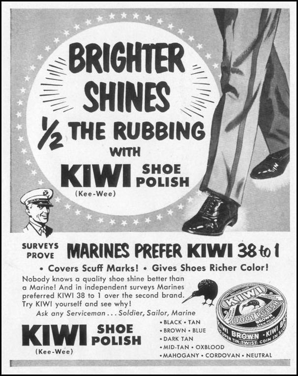 KIWI SHOE POLISH LIFE 10/13/1952 p. 124