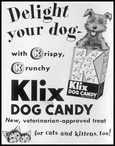 KLIX DOG CANDY LIFE 09/07/1953 p. 124