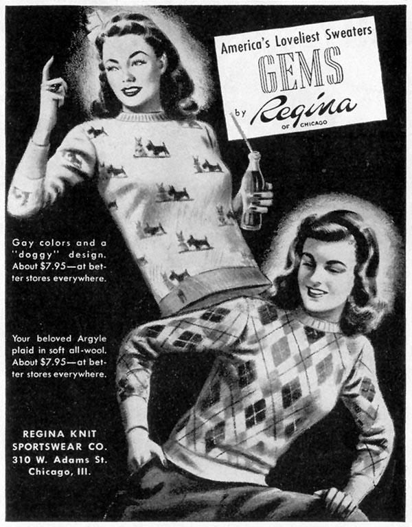 GEMS SWEATERS LIFE 02/21/1944 p. 100