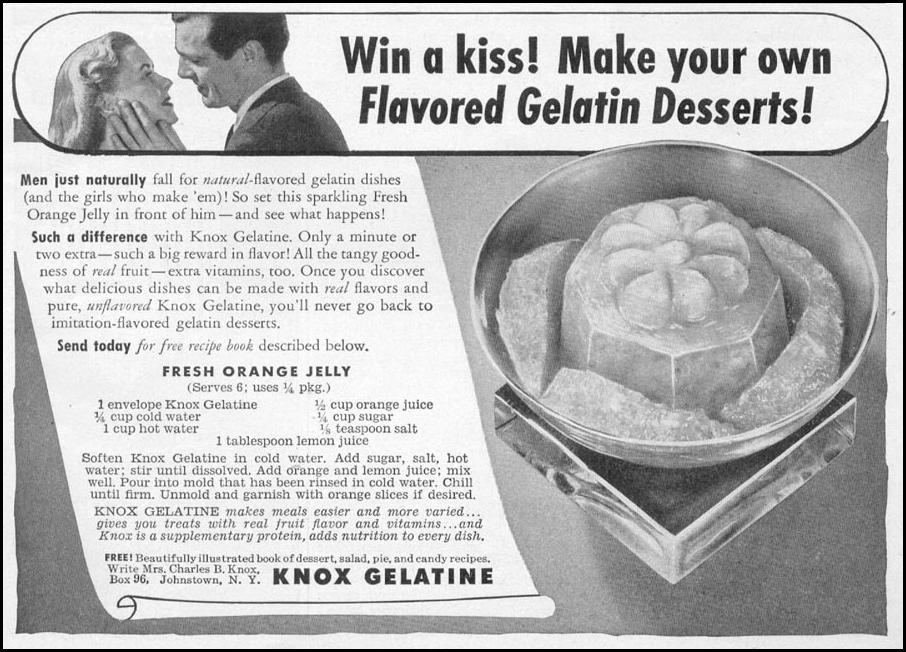KNOX GELATINE WOMAN'S DAY 06/01/1946 p. 67