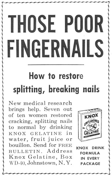 KNOX GELATINE WOMAN'S DAY 09/01/1955 p. 132