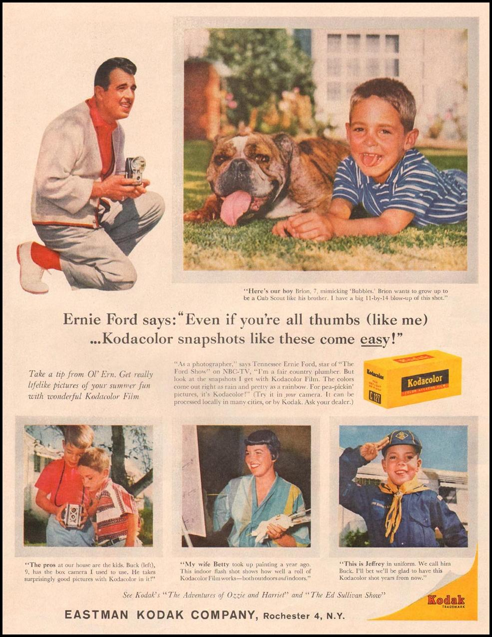 KODACOLOR FILM LIFE 08/10/1959