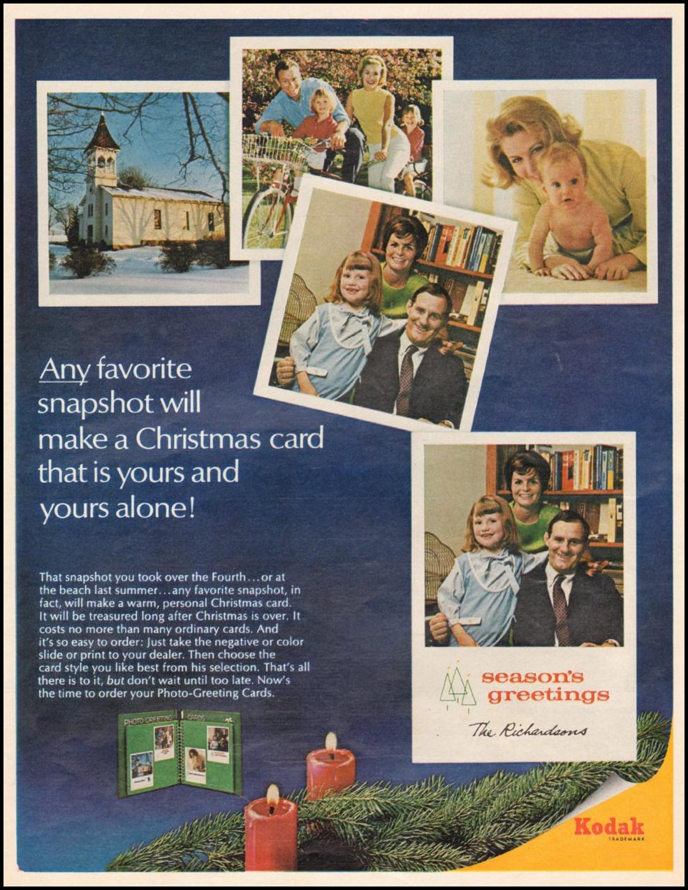 KODAK PHOTO-GREETING CARDS LIFE 11/04/1966