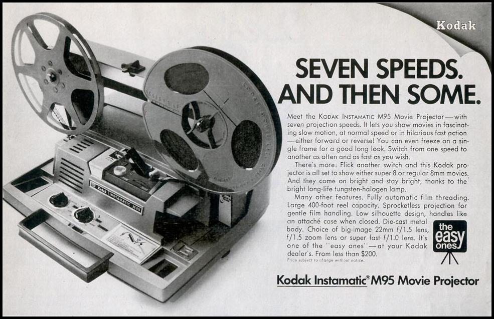 KODAK INSTAMATIC MOVIE PROJECTOR SATURDAY EVENING POST 02/08/1969 p. 11