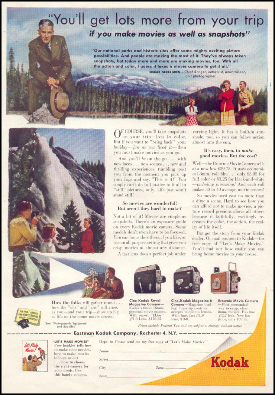 KODAK MOVIE CAMERAS TIME 08/17/1953 p. 49