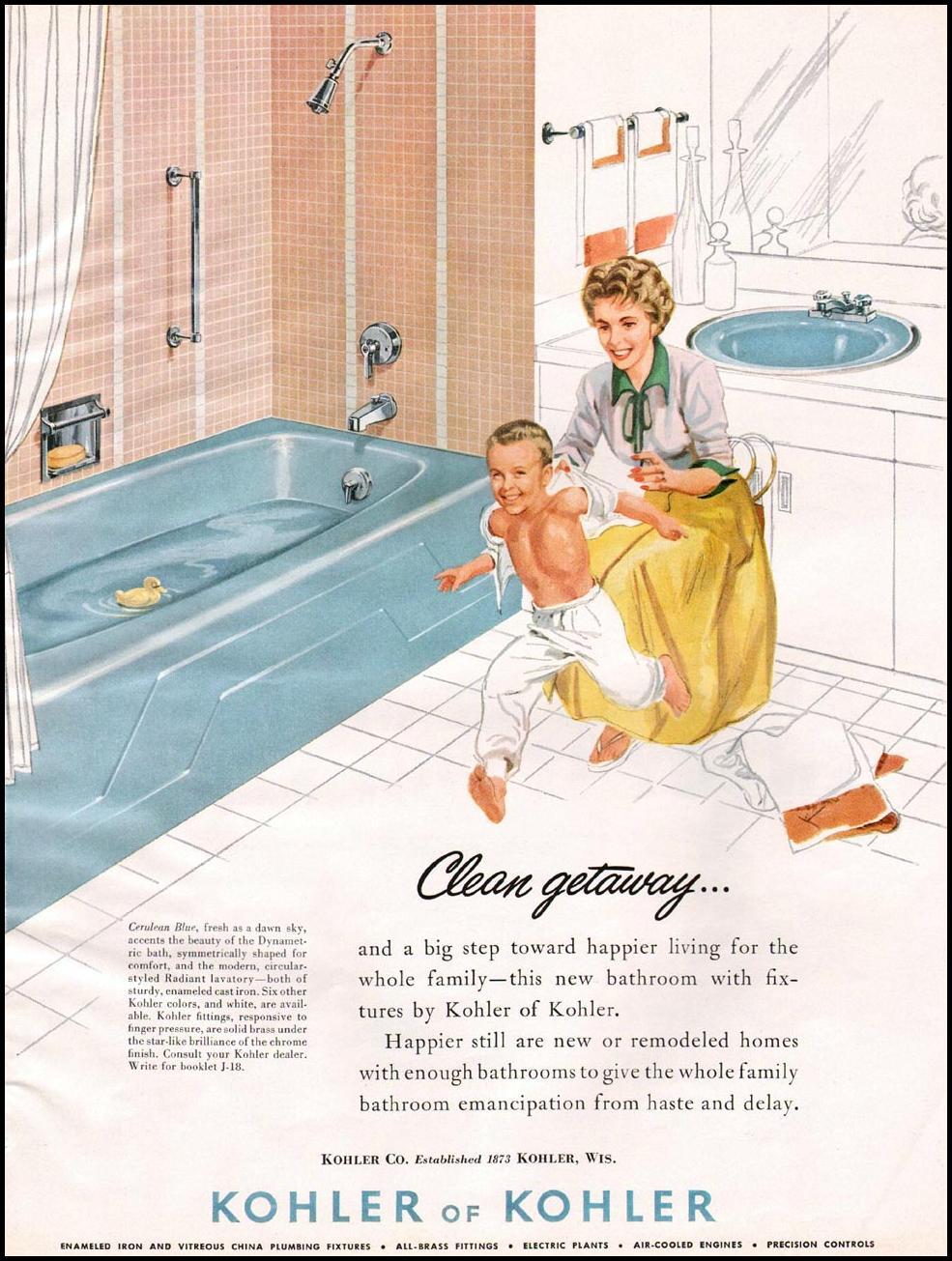 KOHLER BATHROOM FIXTURES BETTER HOMES AND GARDENS 03/01/1960