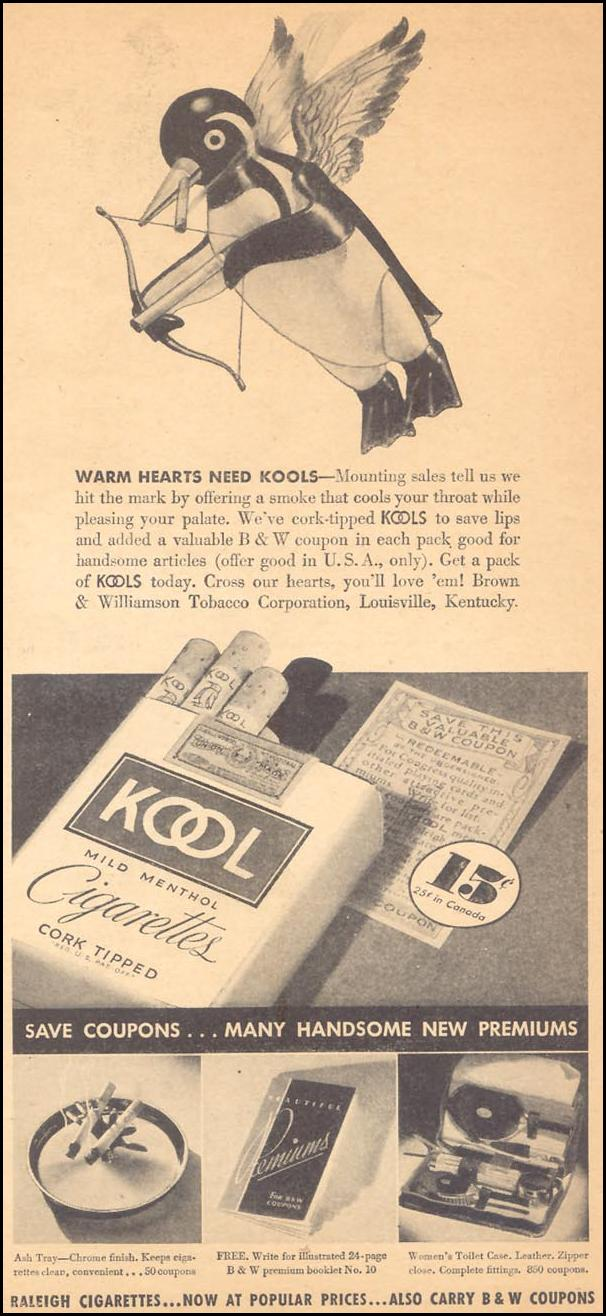 KOOL CIGARETTES LIBERTY 02/15/1936 p. 37