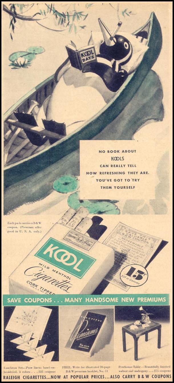 KOOL CIGARETTES LIBERTY 08/08/1936 p. 53