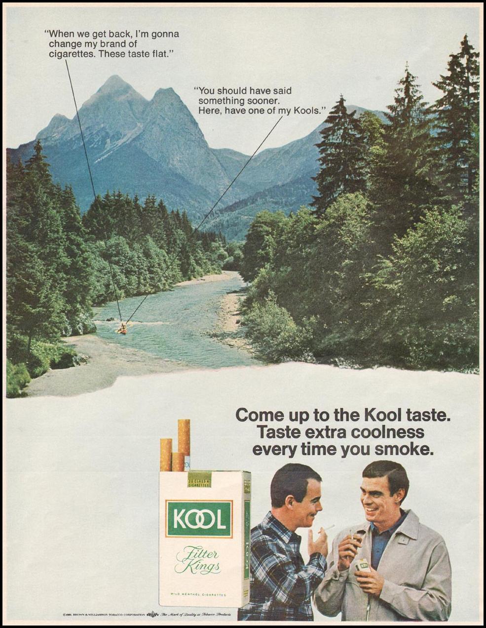 KOOL CIGARETTES LIFE 12/22/1967