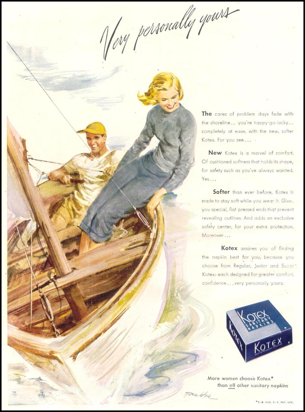 KOTEX GOOD HOUSEKEEPING 07/01/1948