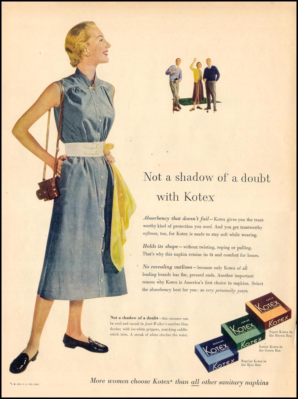 KOTEX LIFE 04/13/1953 p. 154