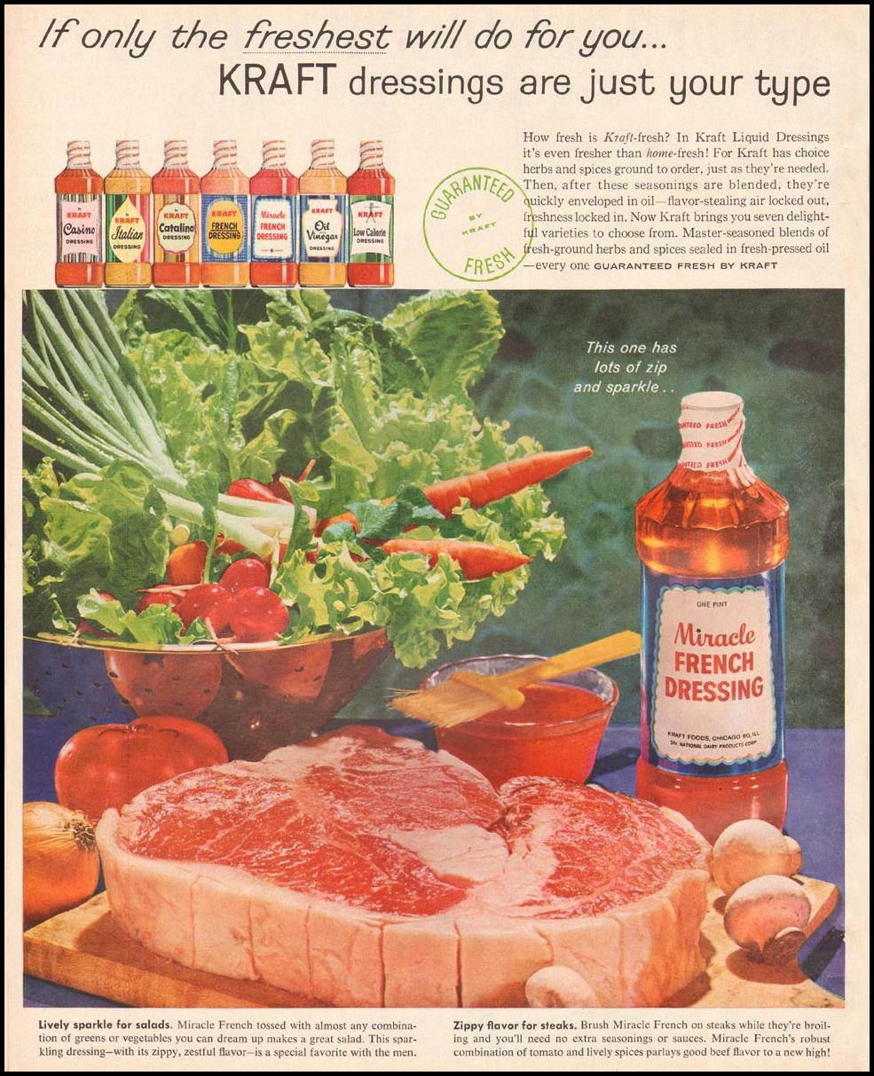 KRAFT MIRACLE FRENCH DRESSING BETTER HOMES AND GARDENS 03/01/1960