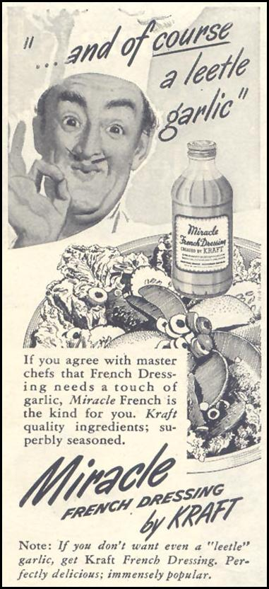 KRAFT MIRACLE FRENCH DRESSING GOOD HOUSEKEEPING 07/01/1948 p. 125