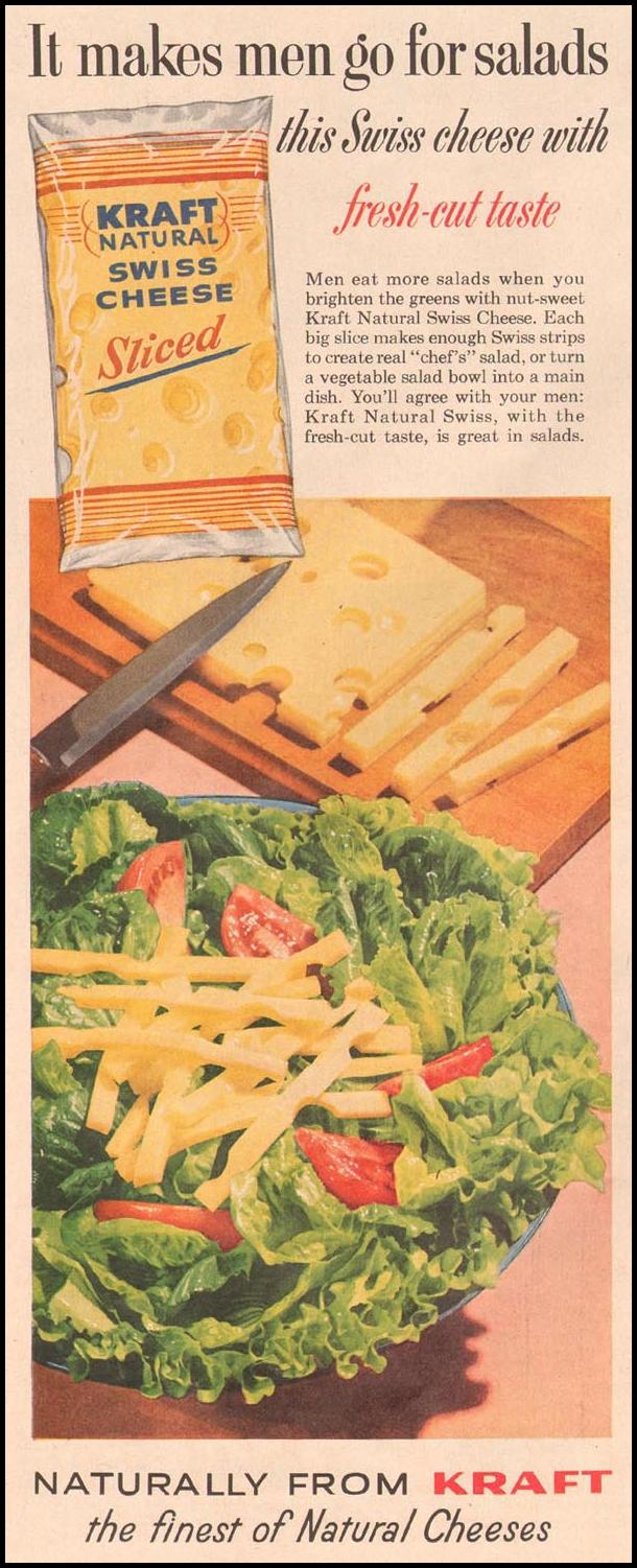 KRAFT NATURAL SWISS CHEESE LIFE 08/10/1959 p. 72
