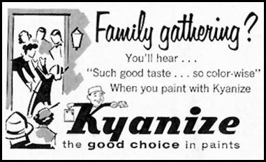KYANIZE PAINTS SATURDAY EVENING POST 05/02/1959 p. 104