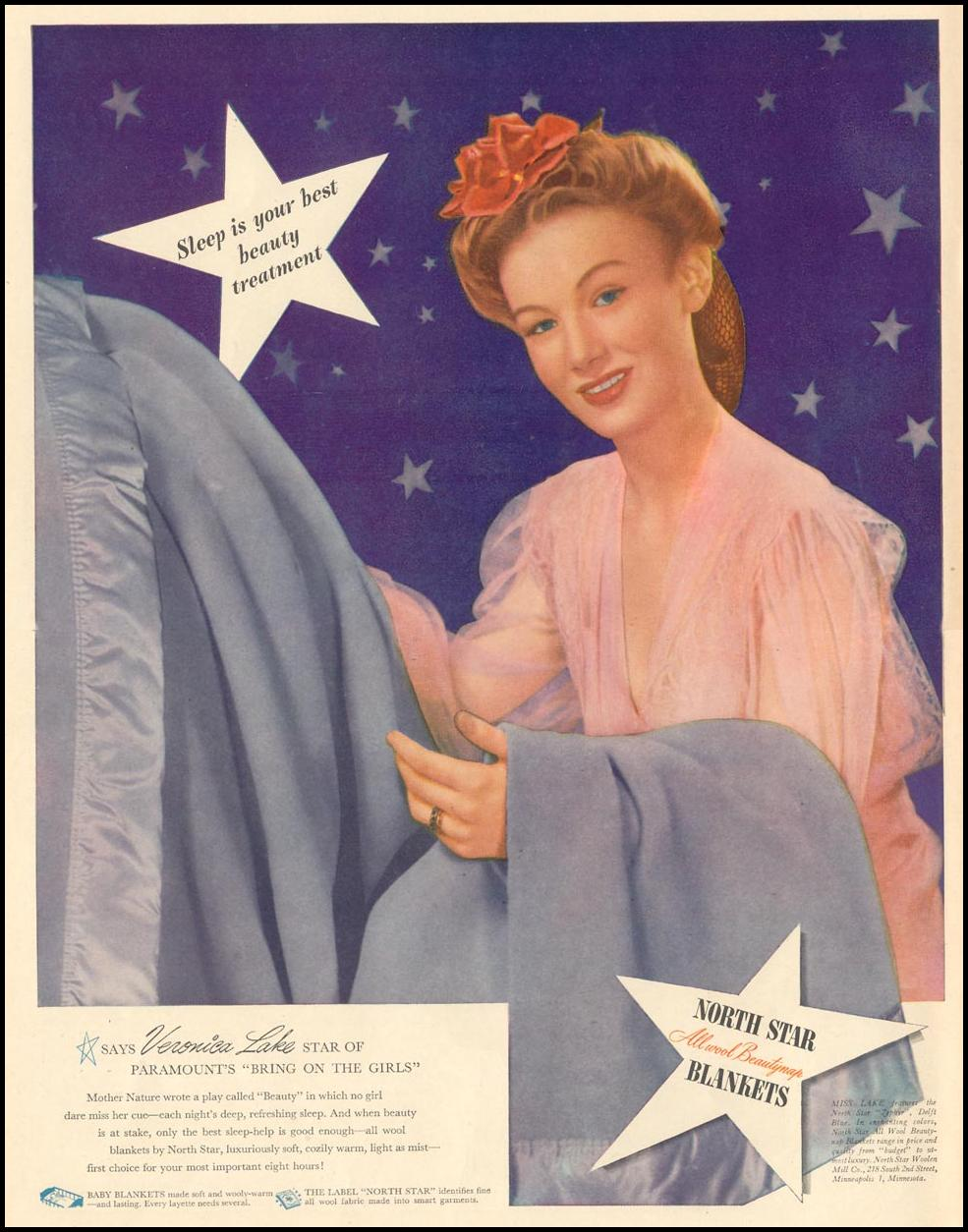 NORTH STAR BLANKETS LIFE 02/21/1944